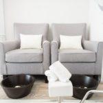 NU Beauty Lounge pedicure