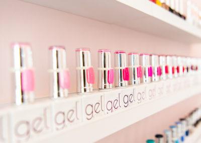 Nu Beauty Lounge Eastbourne - The Gel Bottle display
